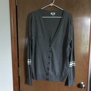 Cute Old Navy Grey Cardigan XL Tall